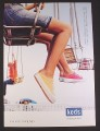 Magazine Ad for Keds Sneakers, Runners, Shoes, Chairlift, 2002