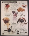 Magazine Ad for The Dog Artist Collection Plush Toys, 2003