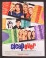 Magazine Ad for SleepOver Movie, Sleep Over, Alex Vega, 2004