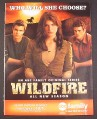 Magazine Ad for Wildfire TV Show, Genevieve Padalecki, 2007