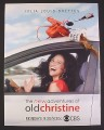 Magazine Ad for The New Adventures Of Old Christine TV Show, Julia Louis-Dreyfus, 2007