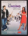 Magazine Ad for The Singing Office TV Show, Joey Fatone, Mel B, 2008
