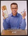 Magazine Ad for Got Milk, Jared Fogle, Subway Guy Who Lost The Weight, 2008
