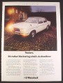 Magazine Ad for Vauxhall Ventora British Car Automobile, 1974, 9 1/4 by 12 1/2