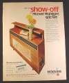 Magazine Ad for Hoover Highlight Gas Fire Heater, British, 1970, 10 by 12 1/2