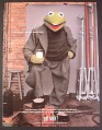 Magazine Ad for Got Milk, Kermit The Frog, Muppets, Henson, 2000, 8 3/4 by 11 3/4