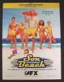 Magazine Ad for Son Of The Beach TV Show, Jaime Bergman, 2000, 8 3/4 by 11 3/4