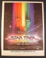 Magazine Ad for Star Trek The Motion Picture Movie, 1979, 10 1/4 by 13 1/4