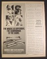 Magazine Ad for Hohner Harmonicas, 4 Models, Marine Band, Super Chromonica, 1979