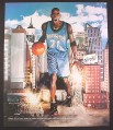 Magazine Ad for Got Milk, Kevin Garnett, NBA Timberwolves, 2001, 10 by 12