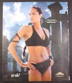 Magazine Ad for Got Milk, Angelina Jolie, Tomb Raider, Lara Croft, 2003, 10 by 12