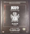 Magazine Ad for Kiss Symphony Alive IV Album & Tour, 2003, 10 by 12