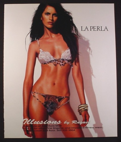look good shoes sale hot sale online new lower prices Magazine Ad for La Perla Underwear, Model in Bathing Suit, 2003, 10 by 12