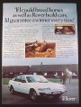 Magazine Ad for Rover Car, 2300 2600 3500, British, 1978, 9 by 12 1/2