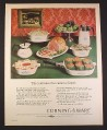 Magazine Ad for Corning Wear Cookware, 11 Piece Homemaker Set, 1967, 10 1/2 by 13 1/4