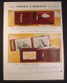 Magazine Ad for Prince Gardner Thin-Twin Registrar Wallet Billfold, 1954, 10 1/2 by 13 7/8