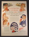 Magazine Ad for WWII Era, Libby's Tomato Juice, On The Home Front, 1943, 10 1/2 by 13 7/8