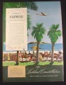 Magazine Ad for Lockheed Constellation Airplane George Sheppard Illustration 1946 10 1/2 by 14
