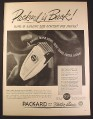 Magazine Ad for Packard Twin Dual Electric Shaver, 1946, 10 1/2 by 14