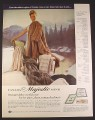 Magazine Ad for Canada Majestic Mink Furs, Fashion, 1966, 10 1/2 by 13 1/4