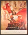 Magazine Ad for I Dreamed I Drove Them Wild In My Maidenform Bra, Roman Chariot, 1961