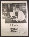 Magazine Ad for Lowrey Holiday Chord Organ, RX For Relaxing, 1961, 10 1/2 by 13 5/8