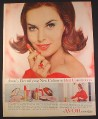 Magazine Ad for Avon Cosmetics, New Shade Color Red Commotion, 1962, 10 1/2 by 13 3/8