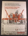 Magazine Ad for Cockshutt 249 Wing Cultivator, Farm Implement, 1967, 10 1/4 by 14 1/8