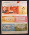 Magazine Ad for Corning Pyrex Gifts, Casserole, Electric Buffet, 1958, 9 3/4 by 12 1/2