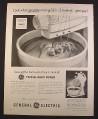 Magazine Ad for General Electric GE Triple Whip Mixer, Kitchen, 1954, 9 3/4 by 12 1/2