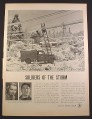 Magazine Ad for Bell Telephone, Repair Man & Truck, Iced Up Lines, 1952, 10 3/8 by 14