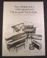 Magazine Ad for Baldwin Musical Instruments, Piano Organs Guitar Banjo, 1966, 10 3/8 by 13 3/4