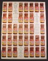 Magazine Ad for Maxwell House Instant Coffee, 36 Bottles, Cash Prizes, 1967, 10 1/2 by 13 5/8