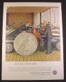 Magazine Ad for Insured Savings and Loan Associations, Giant One Dollar Eagle Coin, 1964