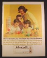 Magazine Ad for Dixie Cup Dispenser, Mother & Kids, 1963, 10 3/8 by 13 5/8