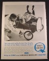 Magazine Ad for Ford Quality Car Care, Go Cart Made of Oil Barrel, 1963, 10 3/8 by 13 5/8