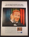 Magazine Ad for Philco TV Television Set, Red Buttons, Celebrity, 1964, 10 3/8 by 13 5/8