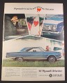 Magazine Ad for 67 Plymouth Belvedere Side & Front Views, Front Seats, 1967, 10 1/2 by 13 3/4