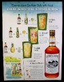 Magazine Ad for Southern Comfort, Alcohol, Old South Coolers, 7UP, Canada Dry, 1953