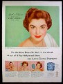 Magazine Ad for Lustre-Creme Shampoo, Esther Williams, Celebrity Endorsement, 1953