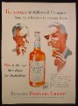 Magazine Ad for Bellows Partners Choice Whiskey, Bottle, Illustration of 2 Partners, 1953