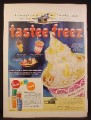 Magazine Ad for Tastee Freeze Ice Cream, Thermo Tumblers, Tastee-Freeze, 1956