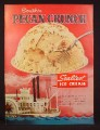 Magazine Ad for Sealtest Ice Cream, South'n Pecan Crunch, Paddlewheel Boat, 1957