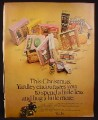 Magazine Ad for Yardley Fragrances, Gift Box Sets, Make Up, Soaps, 1971
