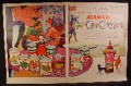 Magazine Ad for Aylmer Canned Food, Can Can Carnival, 1960