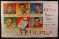 Magazine Ad for Chesterfield Cigarettes, Joe Di Maggio, Ben Hogan, 5 Athletes, 1949