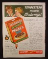 Magazine Ad for Sunsweet Tenderized Prunes, 1936