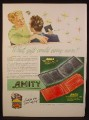 Magazine Ad for Amity Wallet, Billfold, Director, Directress, 1948