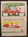 Magazine Ad for Wizard Lawn Mowers, Riding Mower, Sold at Western Auto, 1958