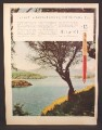 Magazine Ad for Parker 61 Pen, Saved The Lakes of Killarney, 1960
